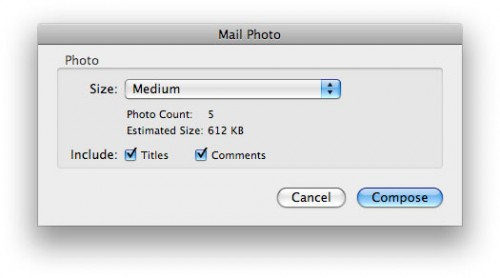 How to email large photos from a Mac or PC.
