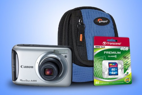 Canon Powershot Free Accessories